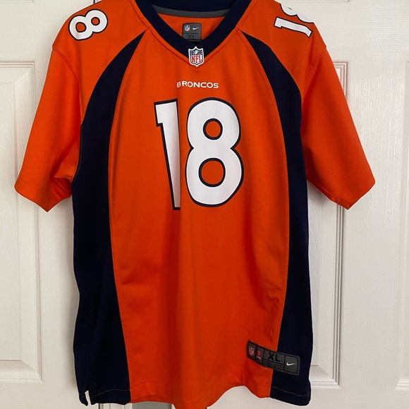 NFL Peyton Manning Nike Jersey #18 Denver Broncos